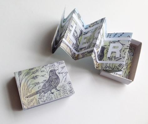 adelstrop poem box
