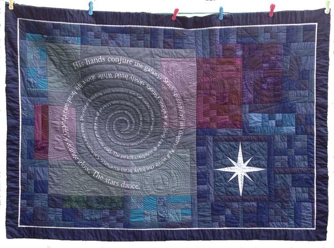 astronomy textile art