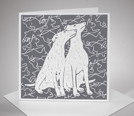 Greyhounds Card