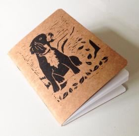 Spaniel notebook